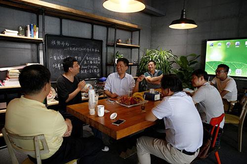 广西市长访问蜜菓总部博多