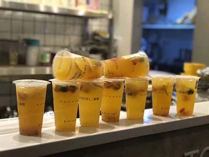 蜜菓奶茶店县城加盟费多少