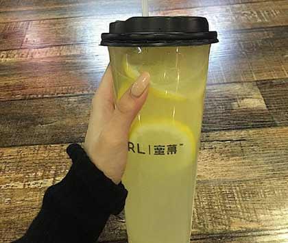 柠檬养乐多