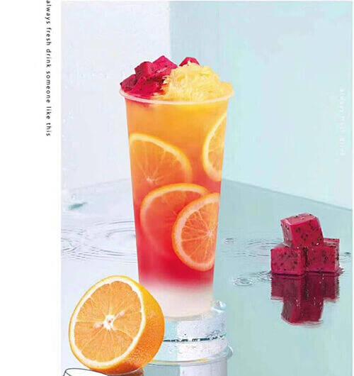 为什么奶茶店喜欢用橙子做饮品
